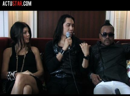Interview des black eyed peas